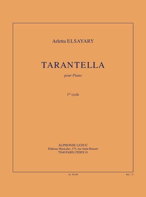 Tarantella - Arletta Elsayari - Partition - Piano - laflutedepan.com
