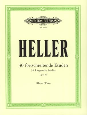 Etüden Opus 46 Stephen Heller Partition Piano - laflutedepan