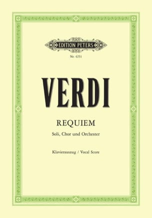 VERDI - Requiem - Partition - di-arezzo.com