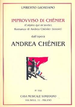Un Di All'azzuro Spazio. Andrea Chénier Umberto Giordano laflutedepan