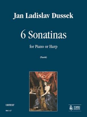 6 Sonatines Jan Ladislav Dussek Partition Piano - laflutedepan