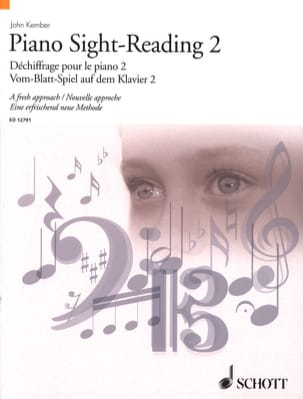 Piano Sight-Reading Volume 2 John Kember Partition laflutedepan