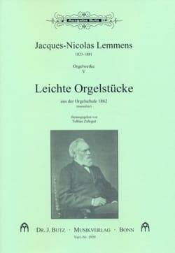 Orgelwerke. Volume 5 Nicolas-Jacques Lemmens Partition laflutedepan