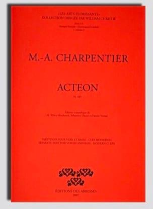 Actéon H 481 CHARPENTIER Partition Opéras - laflutedepan