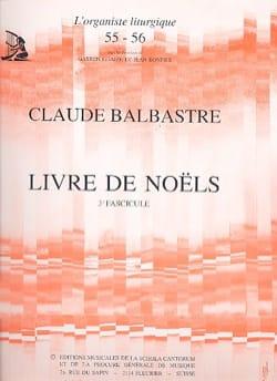 Livre de Noëls Volume 3 Claude-Bénigne Balbastre laflutedepan