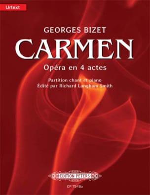 Carmen BIZET Partition Opéras - laflutedepan