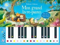 Mon grand livre-piano Livre Chansons et comptines - laflutedepan