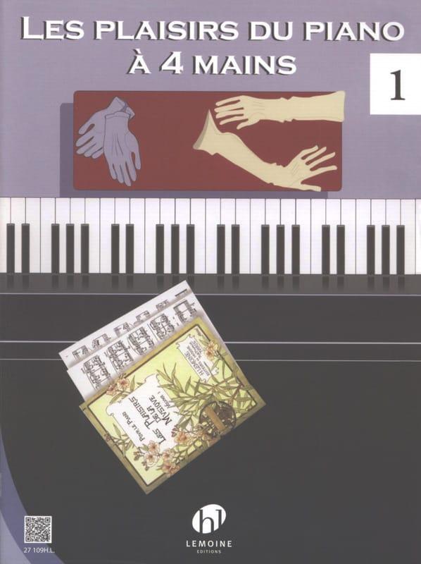 Les Plaisirs Du Piano 4 Mains. Volume 1 - laflutedepan.com