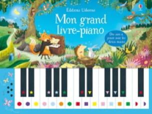 Mon grand livre-piano - Livre - laflutedepan.com