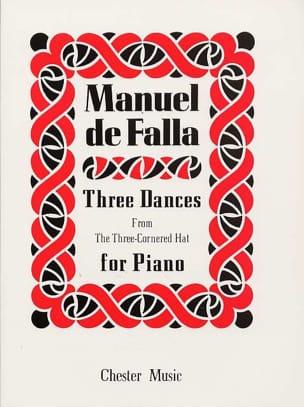 3 Danses Du Tricorne DE FALLA Partition Piano - laflutedepan