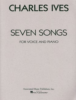 7 Songs - IVES - Partition - Mélodies - laflutedepan.com