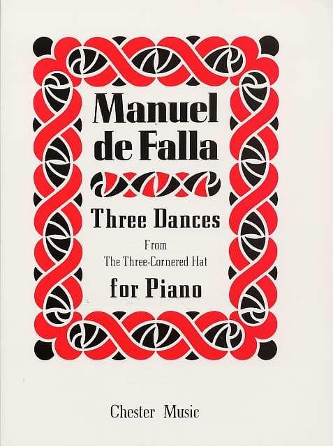 3 Danses Du Tricorne - DE FALLA - Partition - Piano - laflutedepan.com