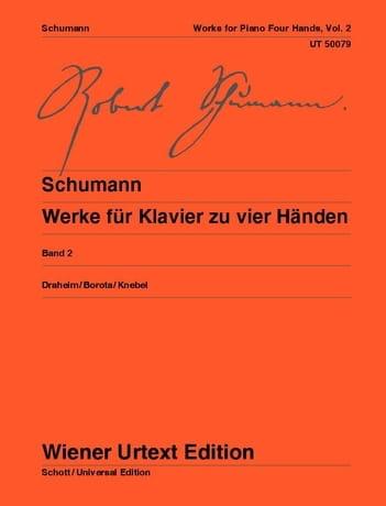 Klavierwerke Bd 2 - 4 mains - SCHUMANN - Partition - laflutedepan.com
