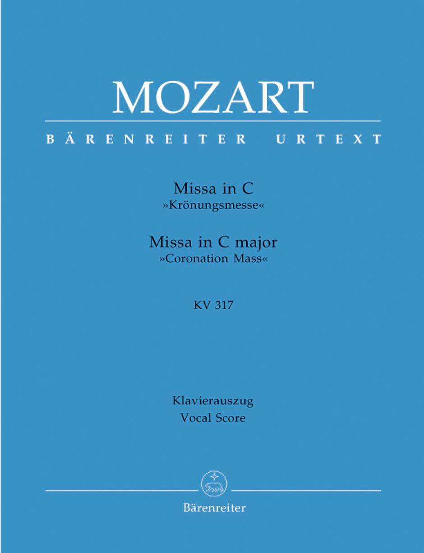 Messe du Couronnement - MOZART - Partition - Chœur - laflutedepan.com