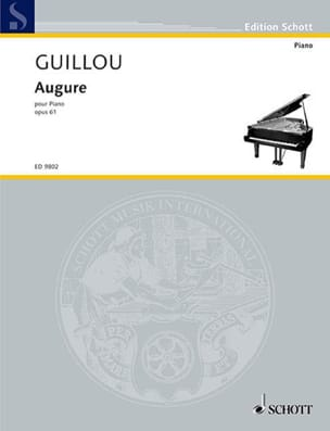 Augure Op. 61 Jean Guillou Partition Piano - laflutedepan