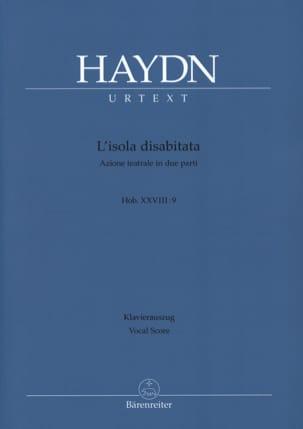 HAYDN - L'isola Disabitata. Hob 28-9 - Partition - di-arezzo.fr