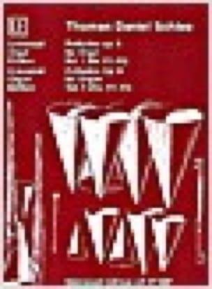Préludes Op. 6 Volume 2 - Thomas Daniel Schlee - laflutedepan.com