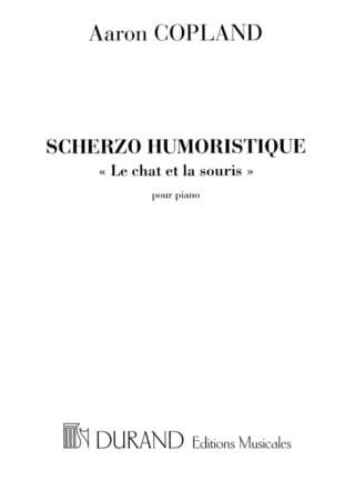 Scherzo Humoristique - COPLAND - Partition - Piano - laflutedepan.com