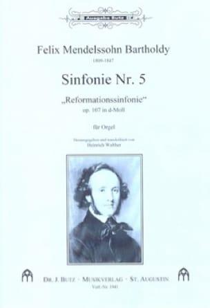 Symphonie N° 5 Op. 107 - MENDELSSOHN - Partition - laflutedepan.com