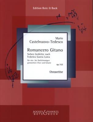 Romancero Gitano Mario Castelnuovo-Tedesco Partition laflutedepan