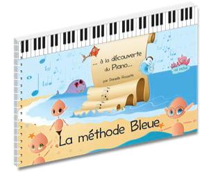 La Méthode Bleue - Partition - Piano - laflutedepan.com