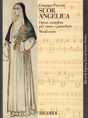 Giacomo Puccini - Suor Angelica. - Partition - di-arezzo.co.uk