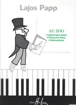 Au Zoo Lajos Papp Partition Piano - laflutedepan