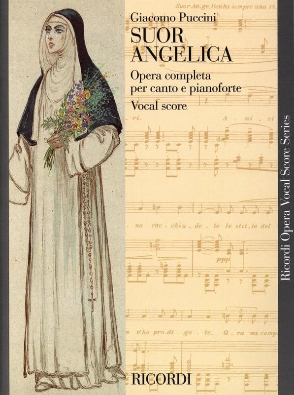 Suor Angelica. - PUCCINI - Partition - Opéras - laflutedepan.com
