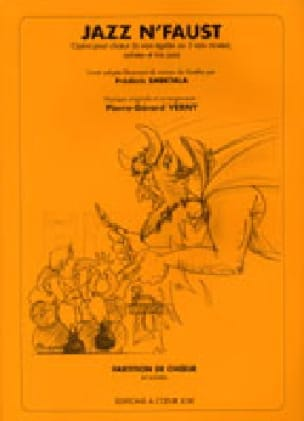 Jazz'n Faust. Conducteur - Pierre-Gérard Verny - laflutedepan.com