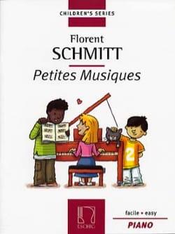 Petites Musiques Opus 32 Florent Schmitt Partition laflutedepan