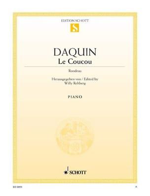 Le Coucou Louis-Claude Daquin Partition Piano - laflutedepan