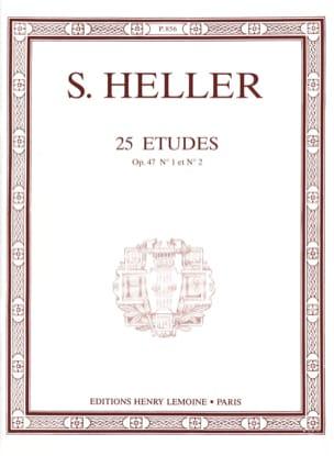25 Etudes Opus 47-1 et 47-2 Stephen Heller Partition laflutedepan