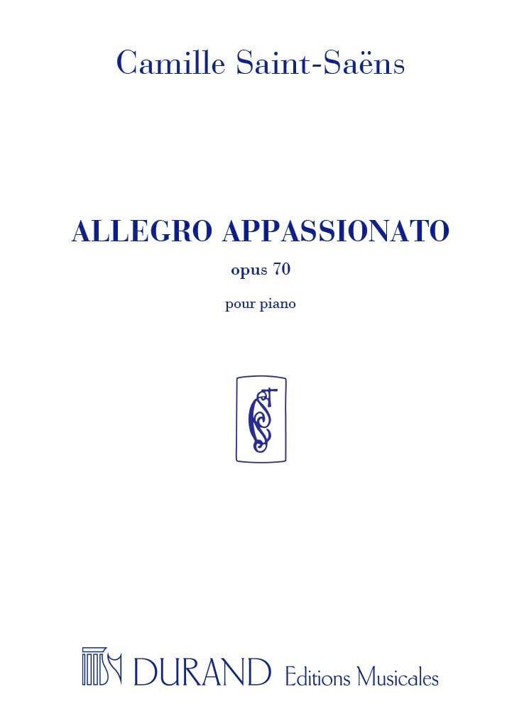 Allegro Appassionato Opus 70 - SAINT-SAËNS - laflutedepan.com