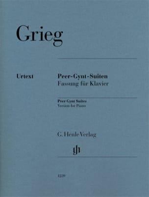 Peer Gynt - Suites N° 1 et 2 GRIEG Partition Piano - laflutedepan