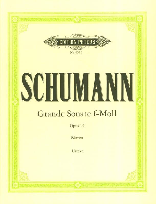 Grande Sonate Opus 14 - SCHUMANN - Partition - laflutedepan.com