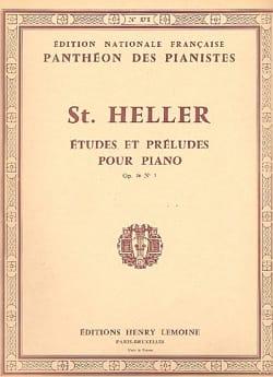 Art de Phraser Opus 16 Volume 1 Stephen Heller Partition laflutedepan