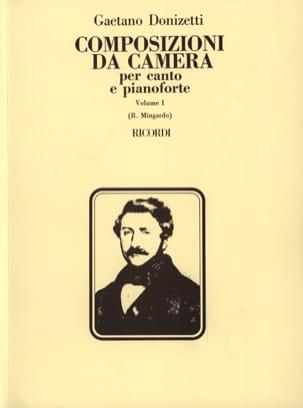 Composizioni Da Camera. Volume 1 DONIZETTI Partition laflutedepan