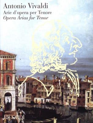 VIVALDI - Arie D'opera Per Tenor - Partition - di-arezzo.com