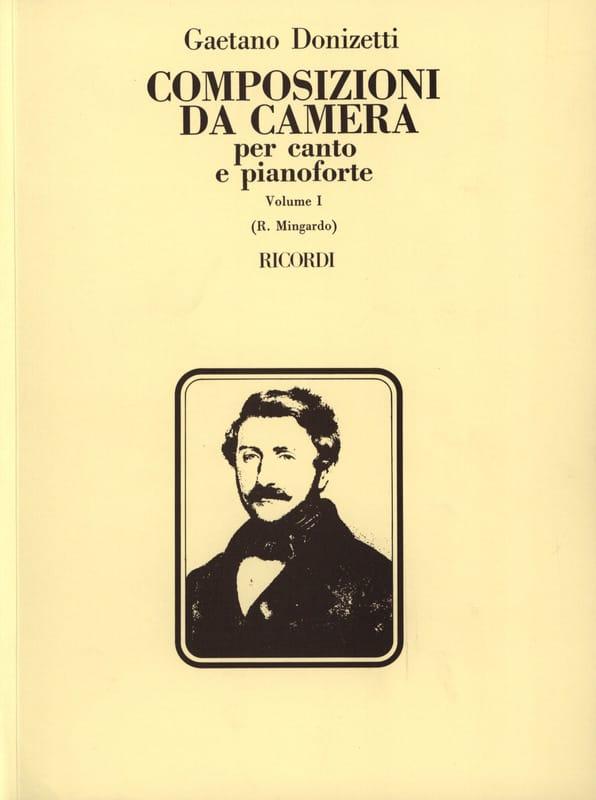 Composizioni Da Camera. Volume 1 - DONIZETTI - laflutedepan.com