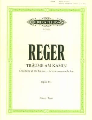 Träume Am Kamin Op. 143 - Max Reger - Partition - laflutedepan.com