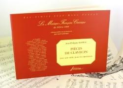 Jean-Philippe Rameau - Piezas de clavicordio con mesa para servicios - Partition - di-arezzo.es