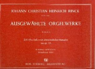 Ausgewahlte Orgelwerke. Volume 1 - laflutedepan.com