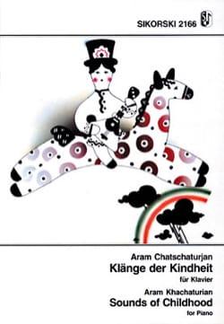 Klänge der Kindheit für Klavier KHATCHATURIAN Partition laflutedepan