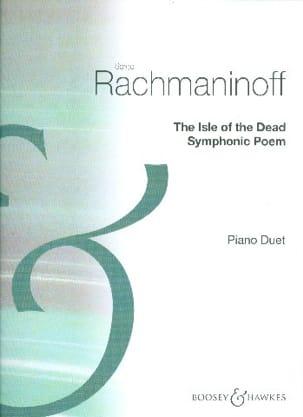 The Isle of the dead op. 29. 4 mains RACHMANINOV laflutedepan