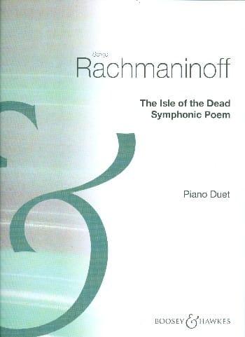 The Isle of the dead op. 29. 4 mains - RACHMANINOV - laflutedepan.com