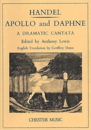 Apollo And Daphne HAENDEL Partition Duos - laflutedepan