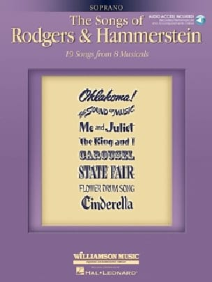 The Songs Of Rodgers And Hammerstein - Soprano - laflutedepan.com
