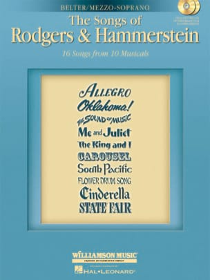 The Songs Of Rodgers And Hammerstein - Mezzo Soprano laflutedepan