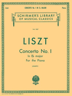 Concerto pour piano n° 1 En Mi bémol Majeur LISZT laflutedepan