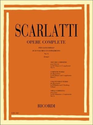 Sonates Volume 10. L451 A L500 SCARLATTI Partition laflutedepan